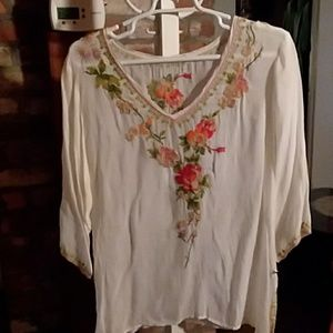 Stunning embroidered blouse